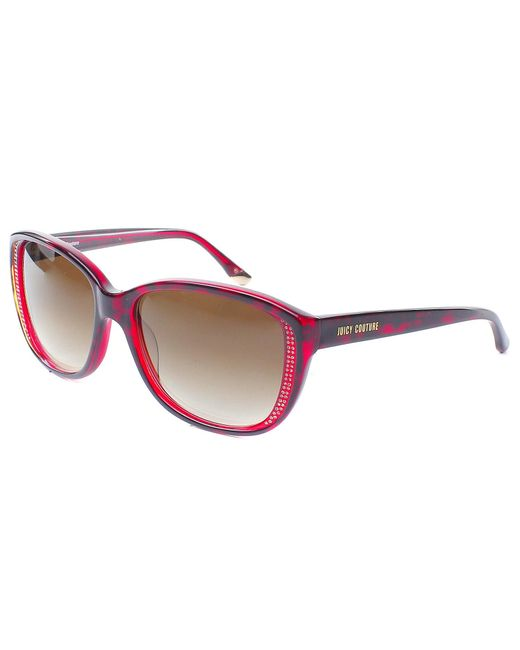 Juicy couture Cat-eye Plastic Sunglasses in Red   Lyst
