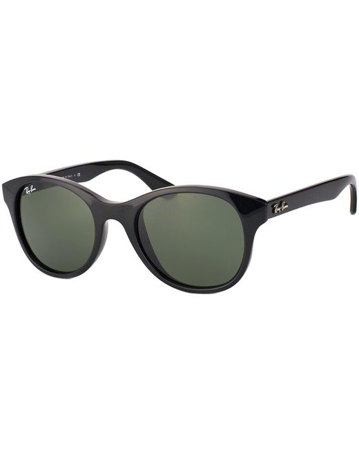 9d68d98d77 Ray-ban Round Plastic Sunglasses in Black