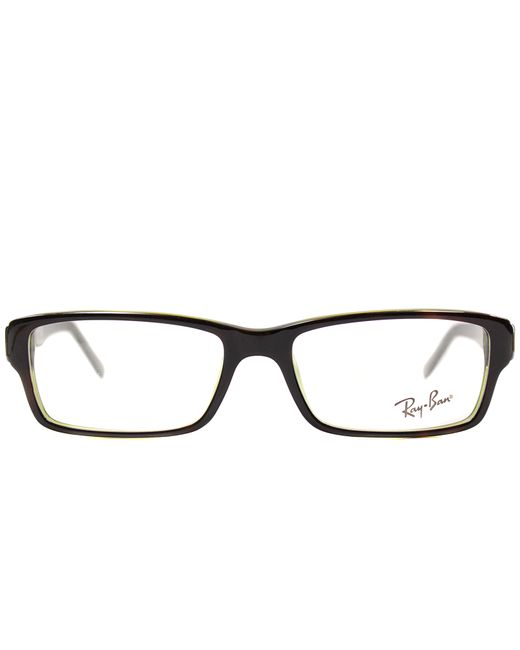 Ray-ban Rectangle Plastic Eyeglasses in Green Lyst