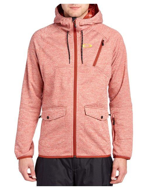 Oakley | Pink Fuel Tank Fleece Jacket for Men | Lyst