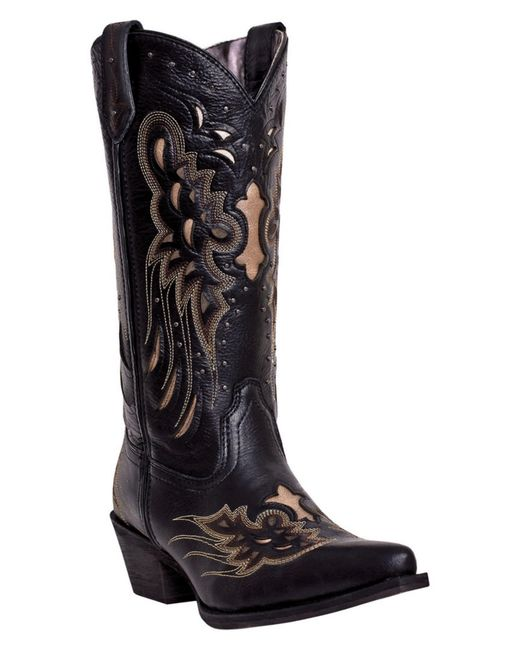 Cool Buy Womens Dan Post Boots 13 Napolino DP3200 Black Napolino BNTO2ktY