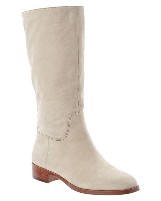 Via Spiga | Natural Jules Leather Mid-Calf Boots | Lyst