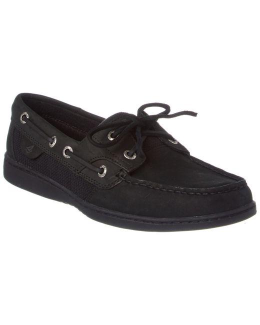 Bluefish  Eye Boat Shoe Black