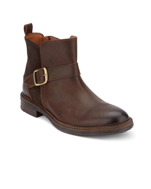 Lucky Brand - Brown Hooper Buckle Boot for Men - Lyst