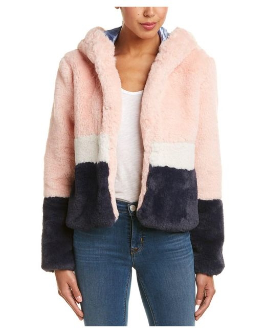 Eight Dreams - Pink Hooded Jacket - Lyst
