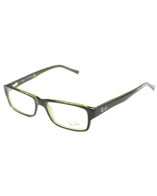 Ray-Ban - Green Rectangle Plastic Eyeglasses - Lyst