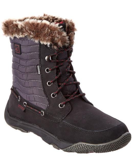 Sperry Top-Sider | Black Winter Harbor Rain Boots | Lyst
