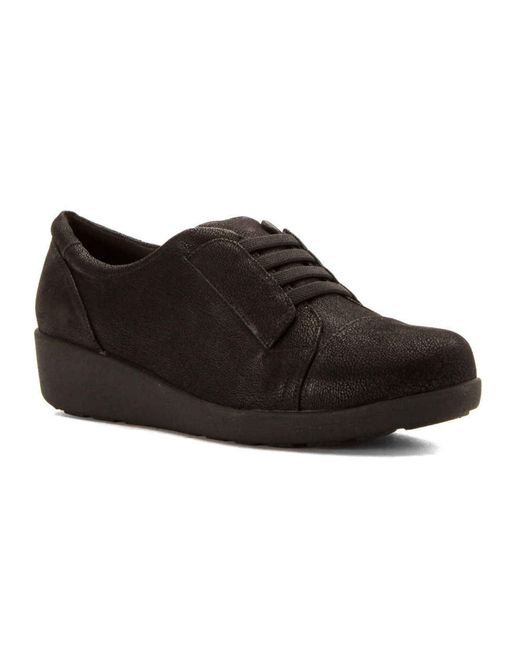 easy spirit s kandance loafers shoes in black lyst
