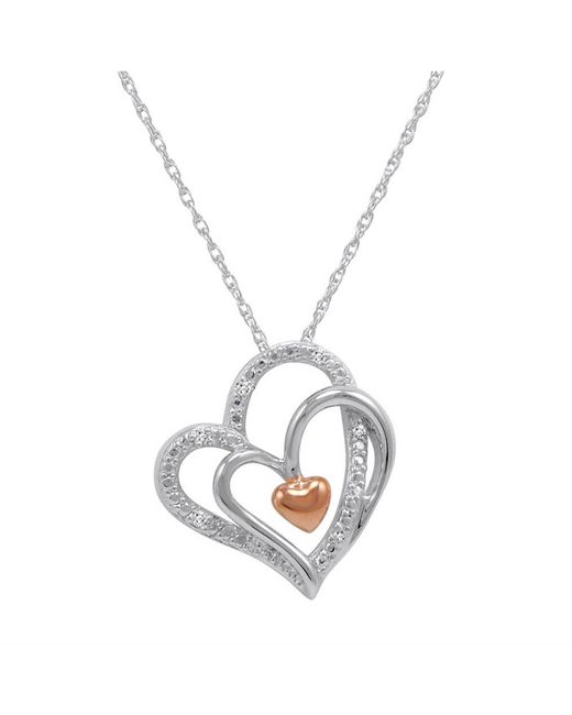 Amanda Rose Collection Sterling Silver Triple Heart In. Types Chains. Benchmark Wedding Rings. Chewable Necklace. Meaningful Rings