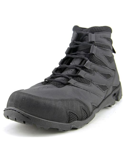 New Balance | 221 Men Round Toe Synthetic Black Work Boot for Men | Lyst