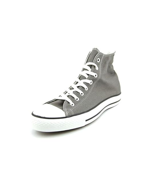 Converse | Chuck Taylor All Star Specialty Hi Men Canvas Gray Sneakers for Men | Lyst