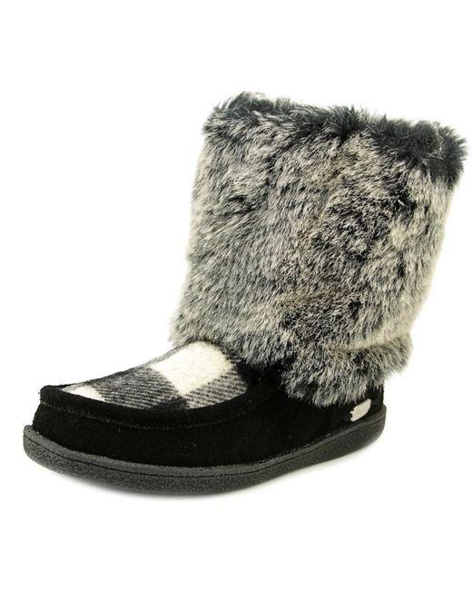 Woolrich   Fall Creek Women Round Toe Synthetic Black Winter Boot   Lyst