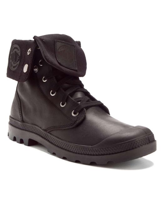 Creative Wholesale Palladium Baggy Hi Womens Black UK47949 - Palladium Women Boots Novel