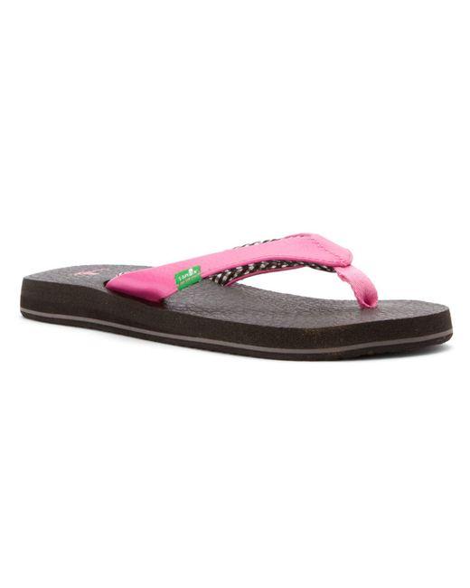 Sanuk Yoga Mat In Pink - Save 4%