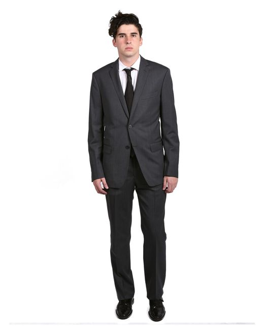Versace Versace Collection Men's Solid Two-piece Wool Suit