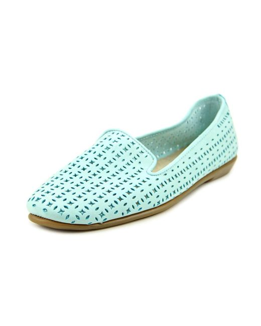 Aerosoles | Blue You Betcha Nubuck Smoking Slippers | Lyst