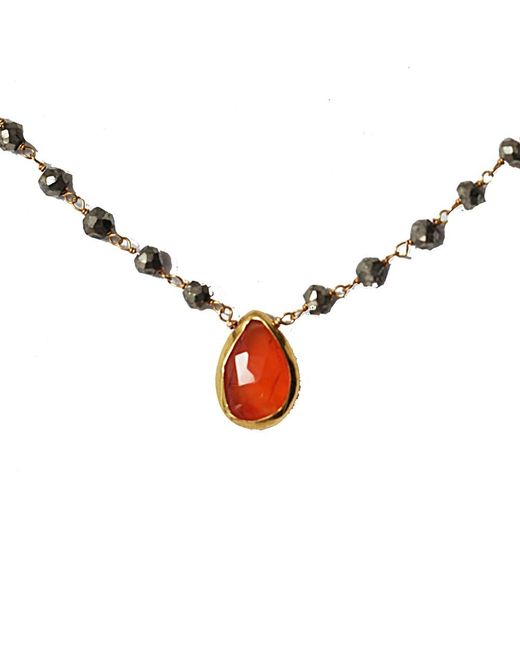 Blue Candy Jewelry | Orange Carnelian Sweet Tart Necklace | Lyst