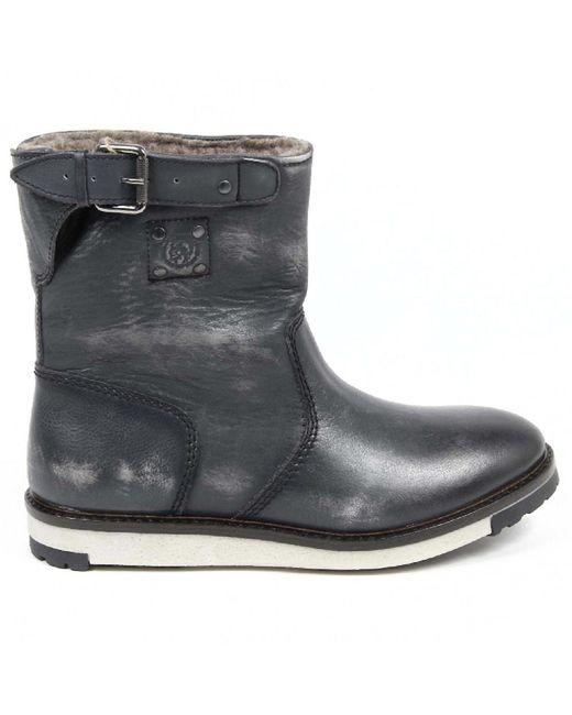 DIESEL | Gray Mens Boot for Men | Lyst