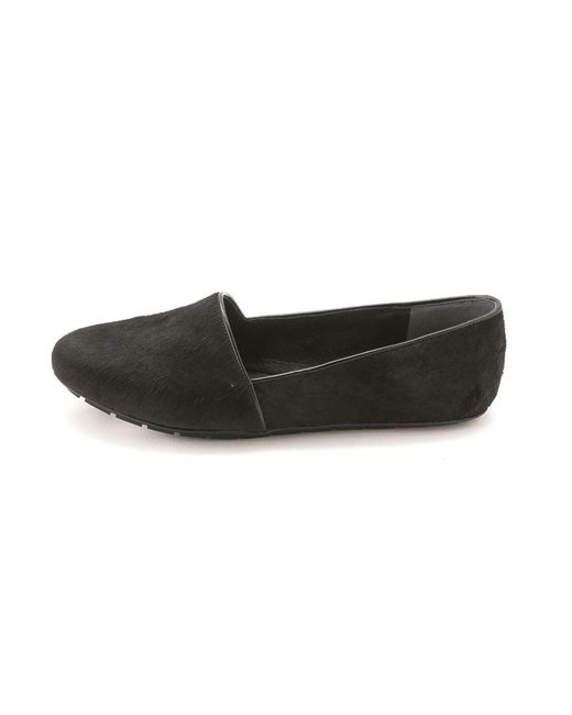 Kenneth Cole | Black Womens Jayden Calf Hair Closed Toe Loafers | Lyst