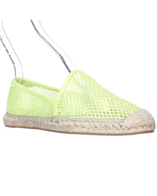 Rebecca Minkoff | Yellow Ginny Espadrille Flats - Chartreuse | Lyst