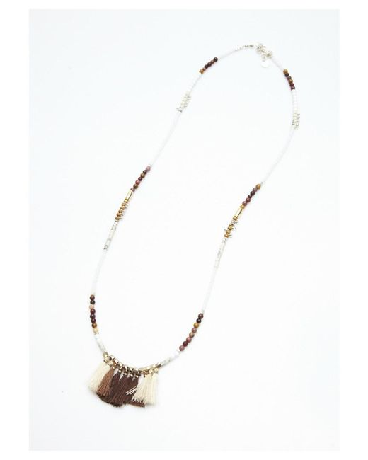 Nakamol | Metallic Lakeni Necklace By | Lyst