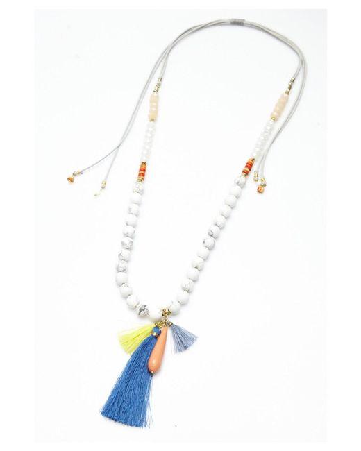 Nakamol | Metallic Lamala Necklace By | Lyst