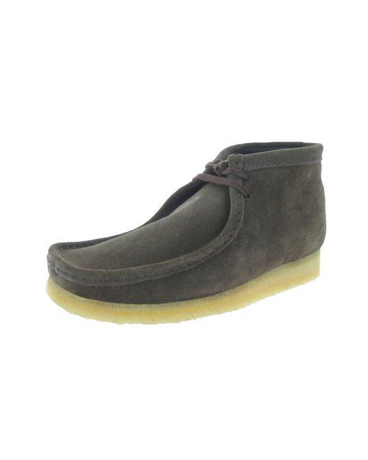 Clarks   Brown Men's Wallabee Boot Boot for Men   Lyst