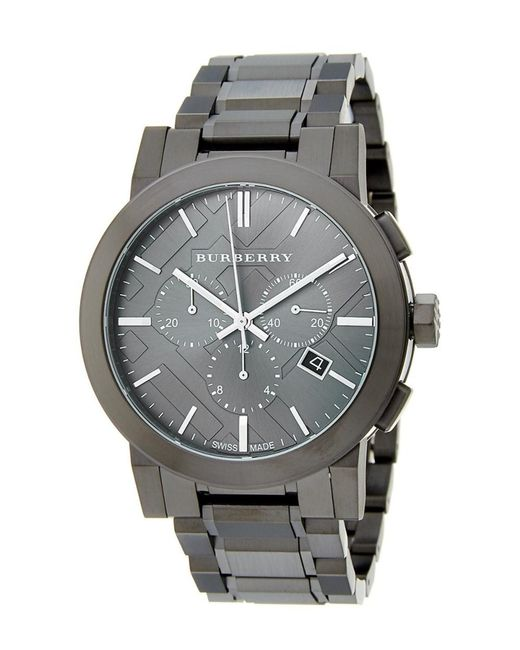 Burberry | Gray Men's Swiss Watch for Men | Lyst