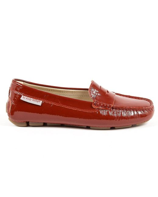 Andrew Charles by Andy Hilfiger - Red Andrew Charles Womens Loafer Bordeaux Max - Lyst