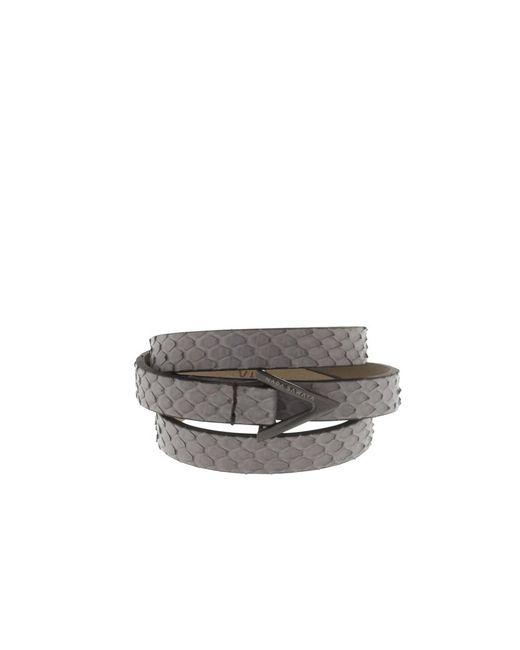 Nada Sawaya - Gray Wrap Me - 3 Rows Python Wrap Bracelet - Lyst