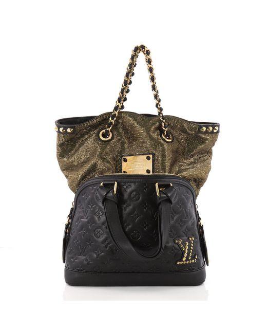 dcea2fe57a44 Louis Vuitton - Multicolor Double Jeu Neo Alma Handbag Limited Edition  Monogram - Lyst ...