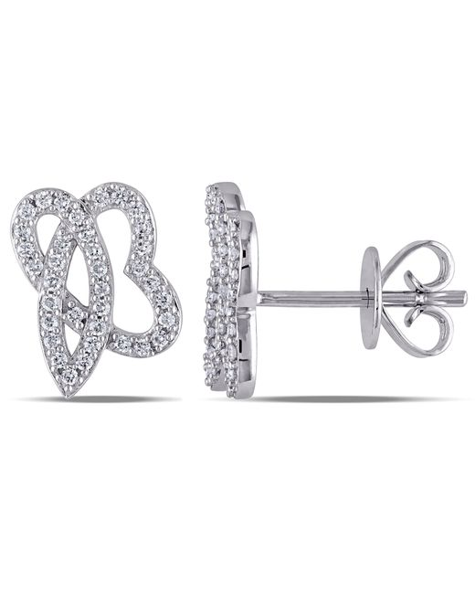 Julianna B - Multicolor 1/5 Ct Diamond Tw Earrings - Lyst
