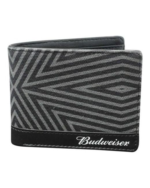 Buxton - Black Men's Budweiser Slimfold Wallet With Bottle Opener for Men - Lyst