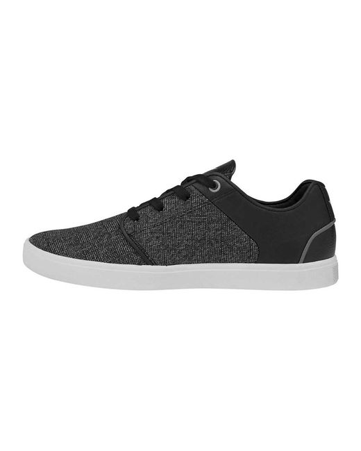 Australia Mens Creative Recreation Santos - Trainers - Black/Grey MQ38395