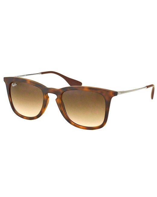 Ray-Ban - Brown Square Plastic Sunglasses - Lyst