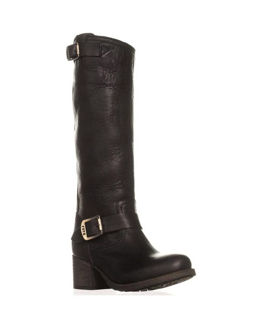 Frye | Black Vera Slouch Knee-high Boots | Lyst