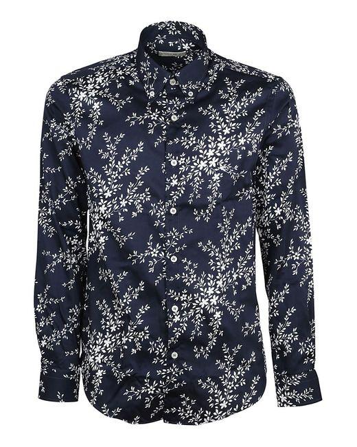 Etro - Men's 138644739200 Blue Cotton Shirt for Men - Lyst