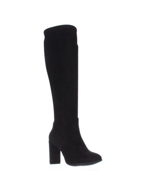 Nine West - Kellan Knee-high Boots, Black - Lyst