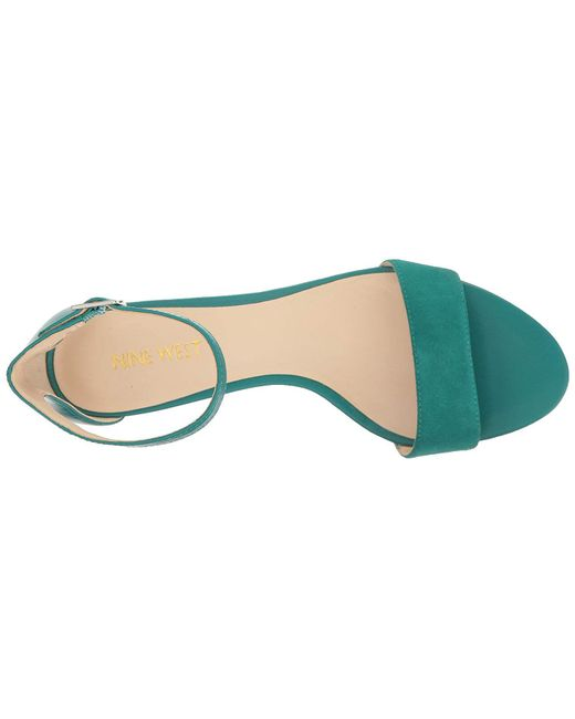 5ab799c56132 ... Nine West - Multicolor Women s Leisa Leather Dress Sandal ...