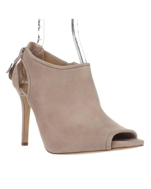 Michael Kors - Gray Michael Jennings Bootie Cutout Booties - Cement - Lyst