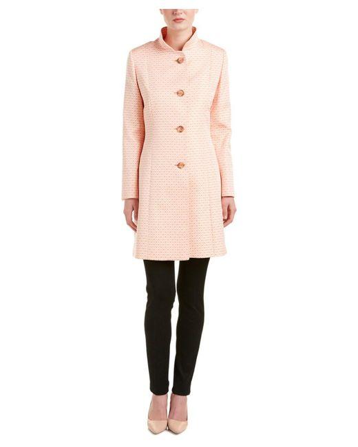 Cinzia Rocca | Pink Trench Coat | Lyst