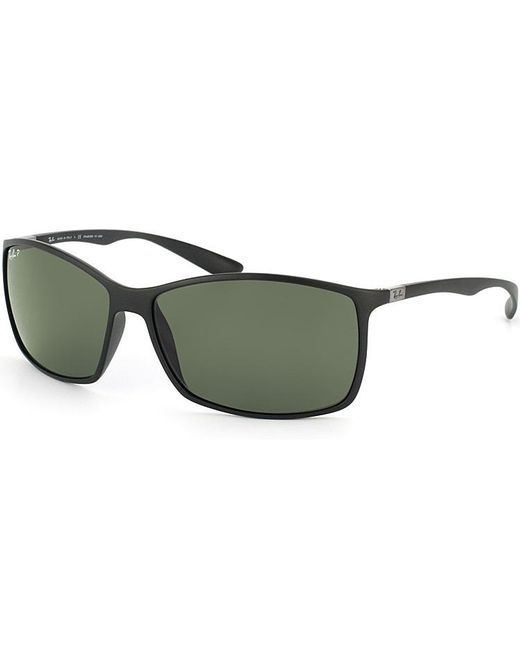 Ray-Ban - Black Lightweight Square Plastic Sunglasses - Lyst