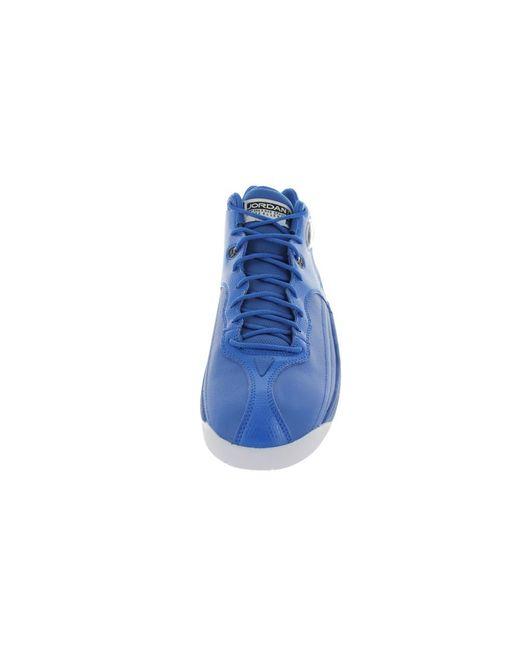 buy online 47456 d20eb ... Lyst Nike - Blue Nike Men s Jumpman Team 1 Basketball Shoe for Men ...
