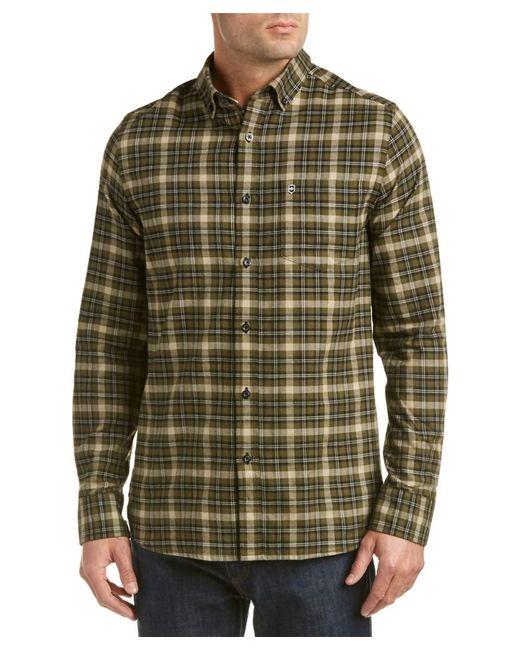 Victorinox | Green Swiss Army Sterner Wool-blend Woven Shirt for Men | Lyst