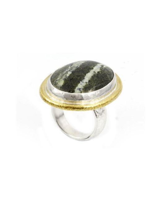 Gurhan - Metallic Galapagos Chrysotile Ring - Lyst