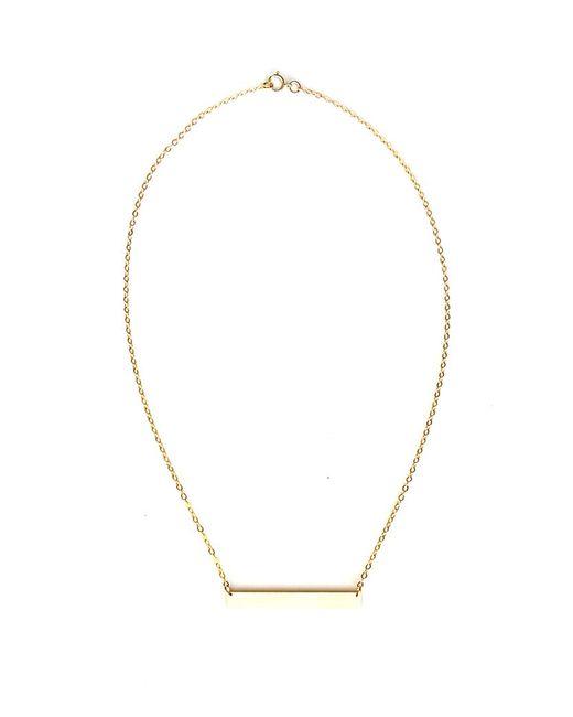 April Soderstrom Jewelry - Metallic Slab Necklace - Lyst