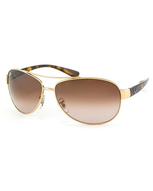 Ray-Ban - Metallic Aviator Metal Sunglasses - Lyst