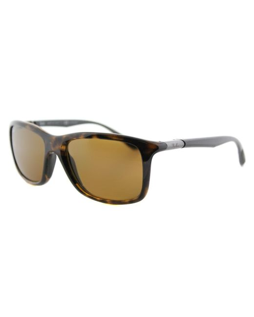 Ray-Ban - Brown Sport Plastic Sunglasses - Lyst