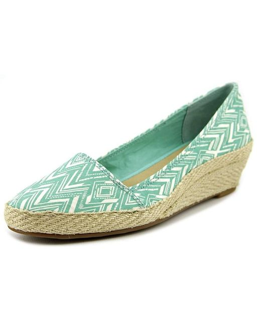 Lucky Brand - Green Women's Tomlin Wedge Shoes - Lyst