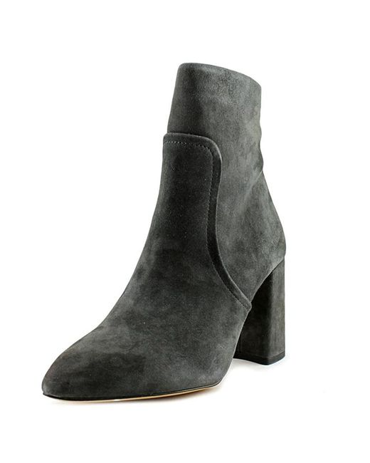 Steve Madden - Gray Womens Jaque Suede Pointed Toe Ankle Fashion Boots - Lyst